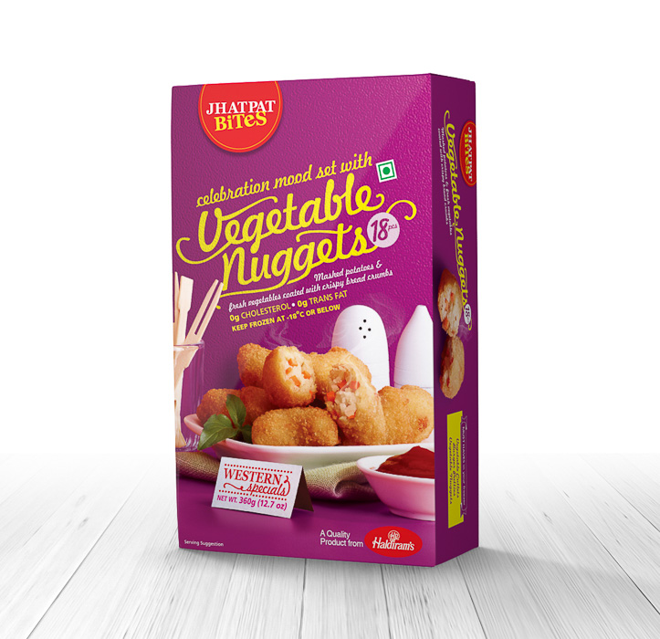 Jhatpat Bites Vegetable Nuggets(360gms)