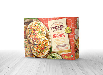 Dakshin Exp. Vegetable Uttapam(397gms)