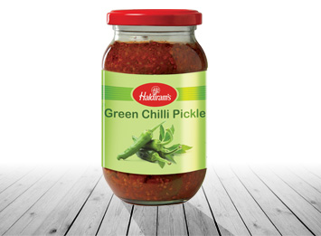 Green Chilli Pickle(400gms/1kg)